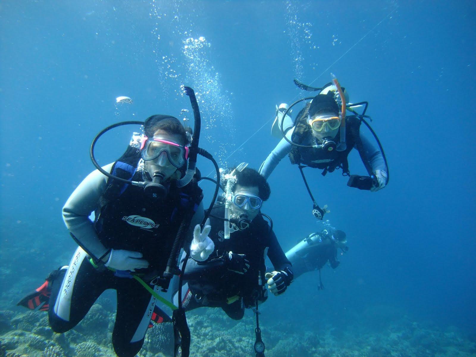 scuba dive with water sports combo goa dream adventure
