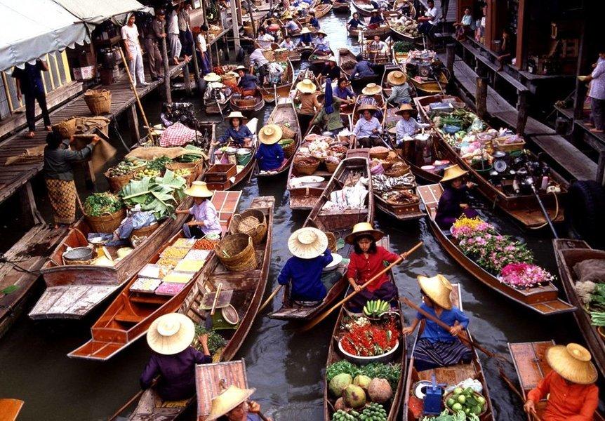 Half Day Damnoen Saduak Floating Market - Tour