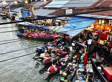 Risky Market and Amphawa Floating Market (Bangkok) - Tour