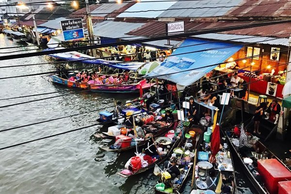 Amphawa Floating Market Half Day Trip from Bangkok - Tour