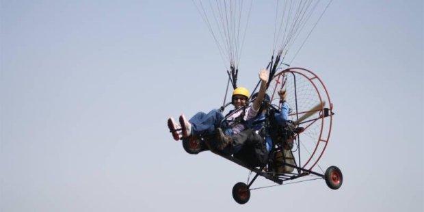 Motorised Paragliding in Goa - Tour
