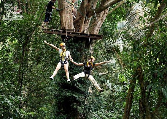 Zipline Experience at Flying Hanuman Phuket - Tour