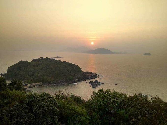 Oyster Island Camping , Karwar - Tour
