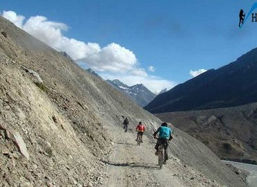 Manali to Chandratal Cycling Expedition - Tour