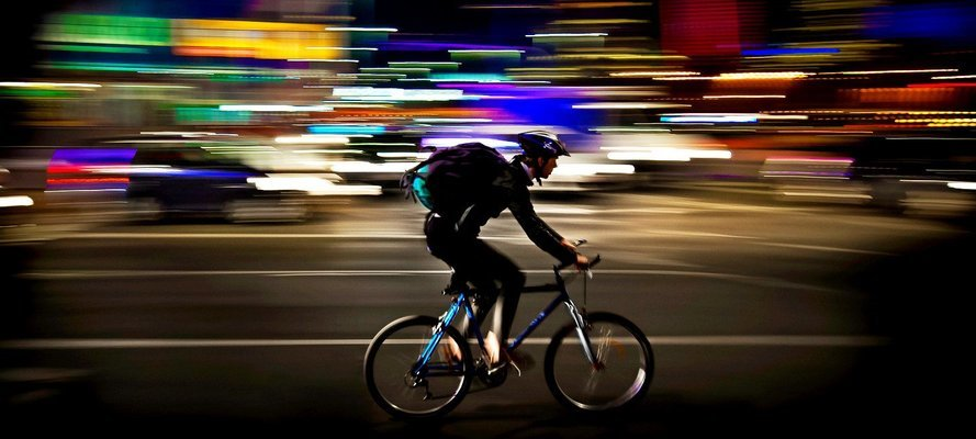 Midnight Cycle Ride To Early Morning - Tour