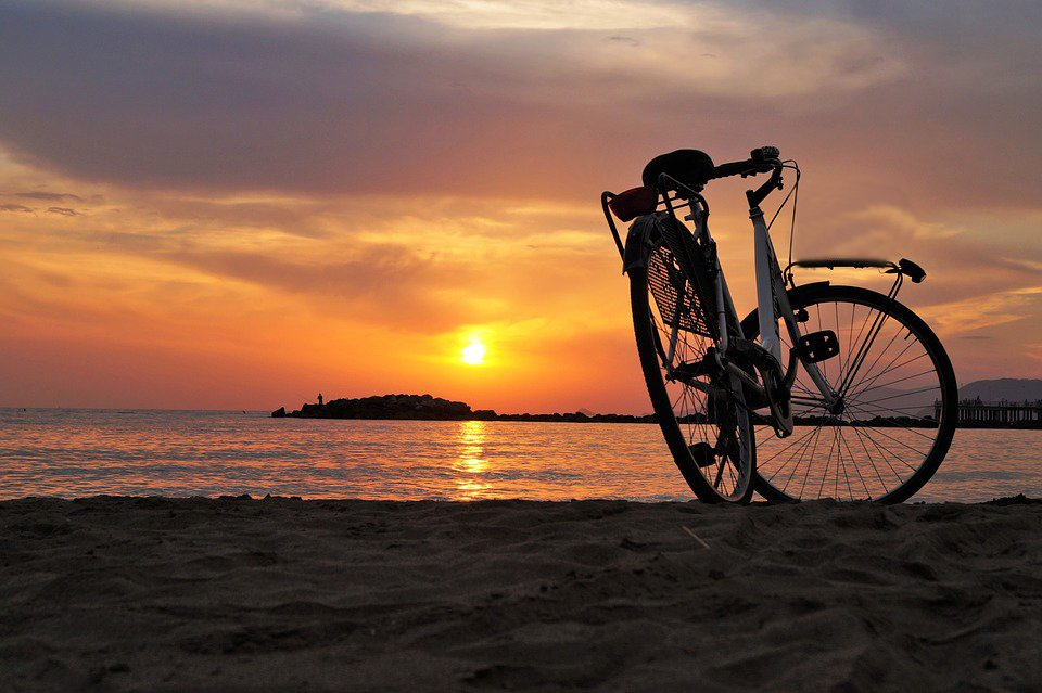 Beach Side Cycling - Collection