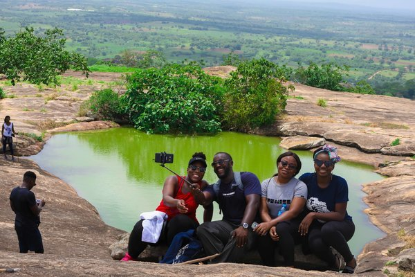 Hiking Ado Awaye: Africa's Only Suspended Lake! - Tour