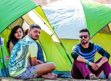 Camping at SulaFest - Tour