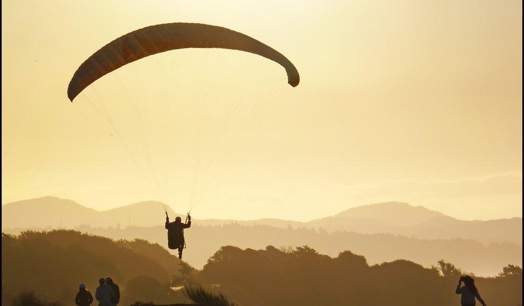 Paragliding @ Corbett
