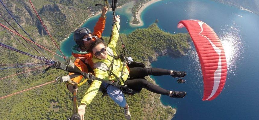 Paragliding in Oludeniz Fethiye - Tour