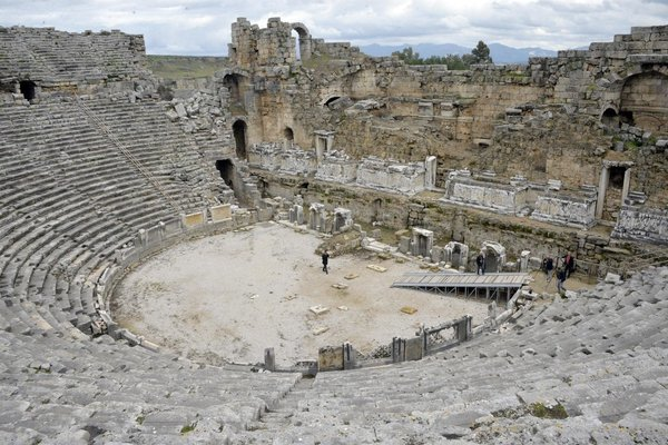 Perge, Aspendos, & Side Full Day Tour - - Tour