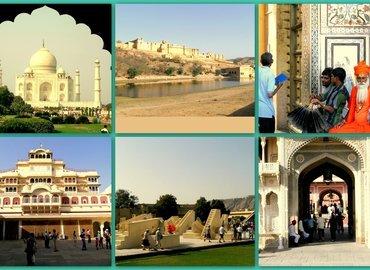Delhi-Agra-Jaipur Golden Triangle - Tour