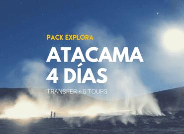 Pack Explora 4 dias - Tour