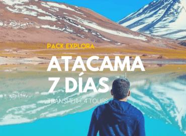 Pack Explora 7 Días - Tour
