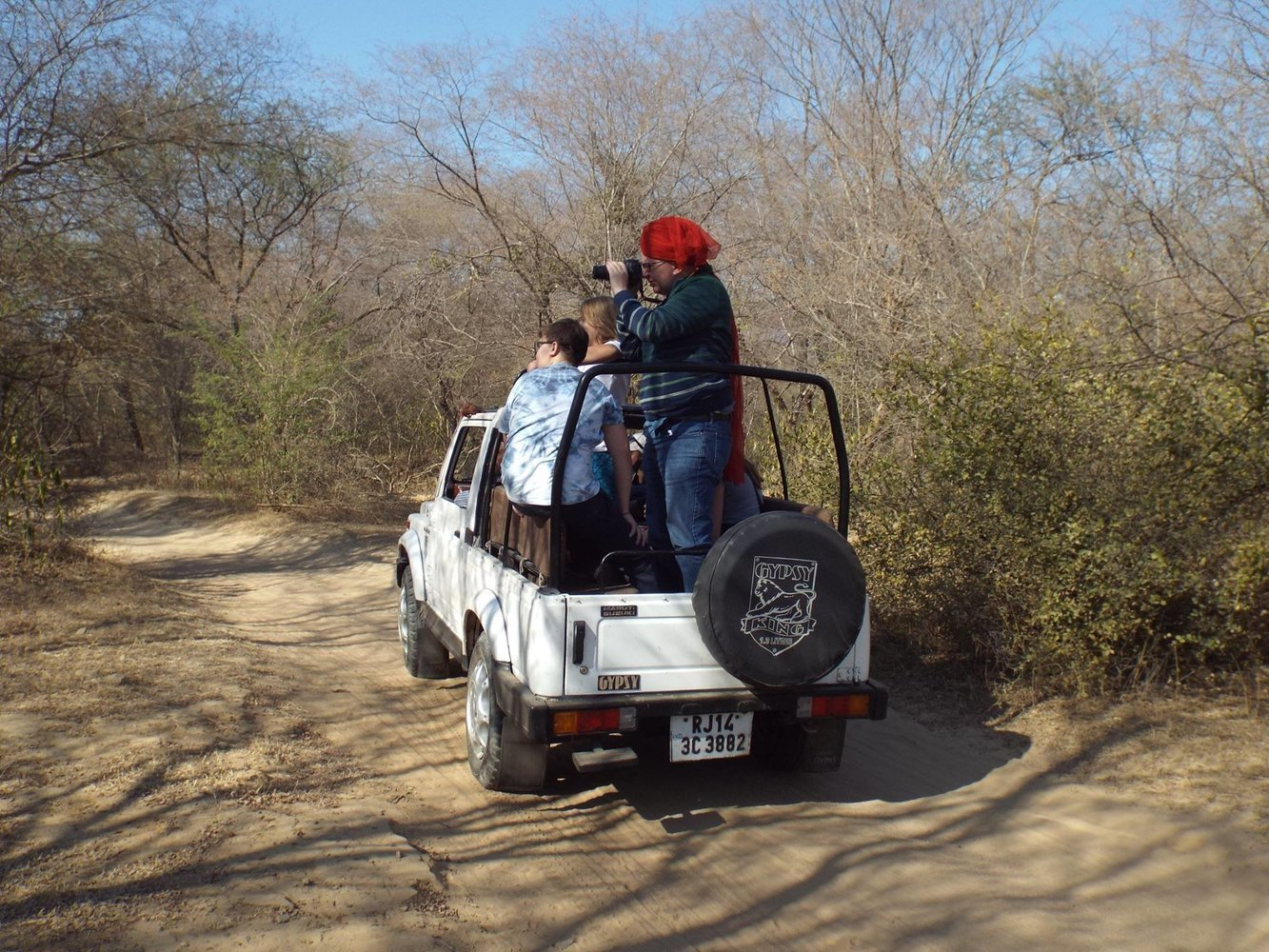 Explore the best with Amer Jeep Safari