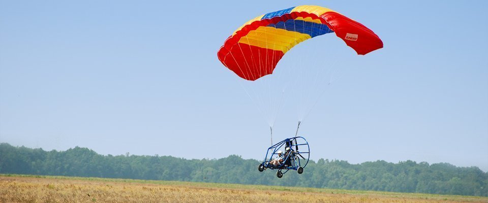 CA - Powered Paragliding @ Corbett - Tour
