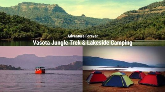 Jungle trek and night Camping at VASOTA