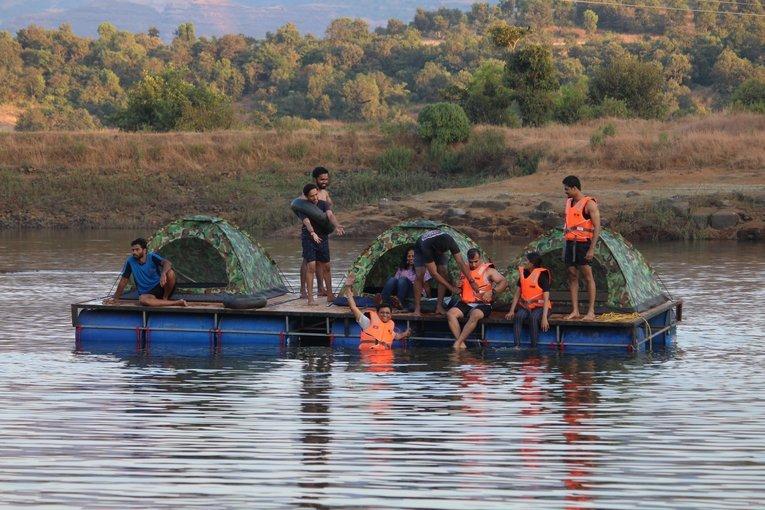 Kurungwadi Lake Side Camping (Floating Tent Experience) - Tour