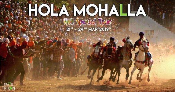 Hola Mohalla Holi Special Trip