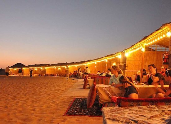 Evening Desert Safari with BBQ Dinner - Tour