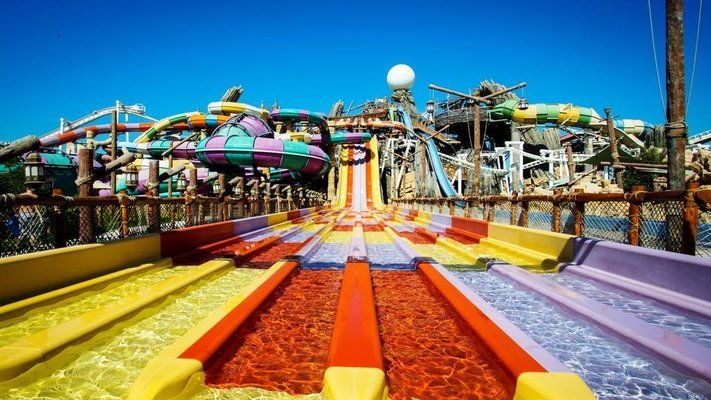 Yas Waterworld Abu Dhabi - Tour
