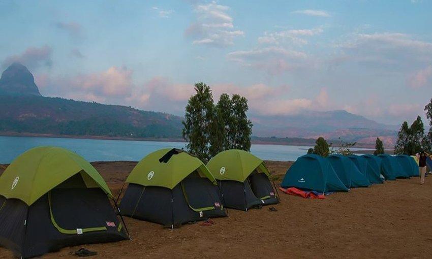 Lakeside Camping at Pawna - Tour
