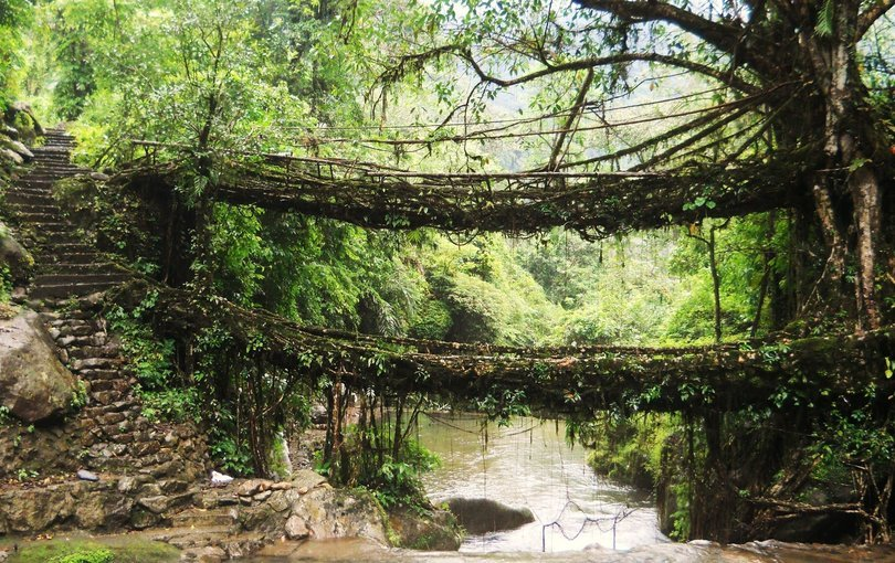 Guwahati Shillong Cherrapunji Dawki Haflong 6 nights 7 days tour - Tour