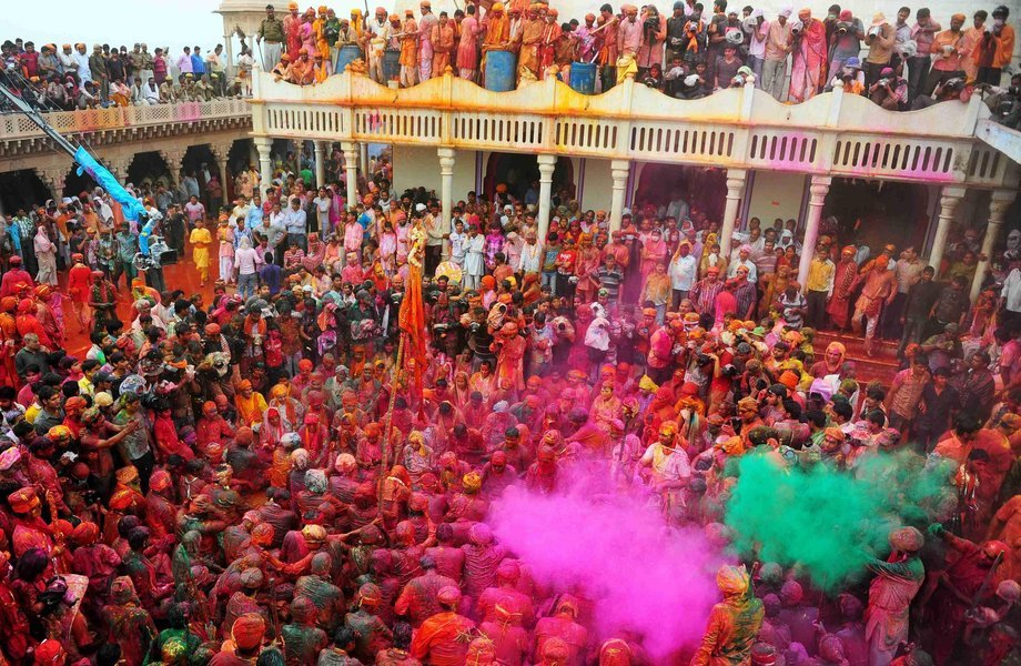 Holi at Vrindavan - Tour