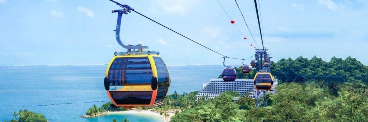 Singapore Cable Car Sky Pass - Tour
