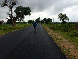 Coorg_nirmala_on_bike