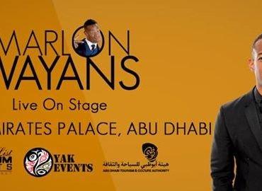 Marlon Wayons - Live on Stage (Abu Dhabi) - Tour