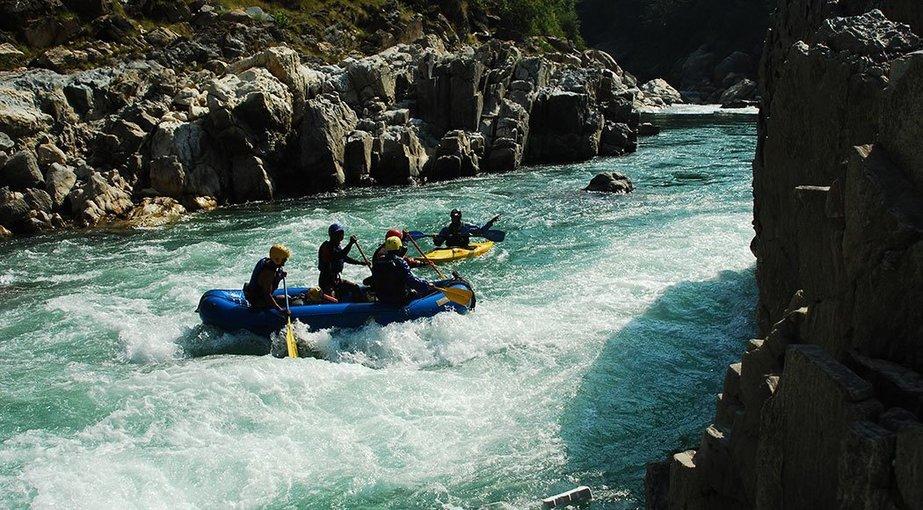 Sarayu River Rafting Expedition - Tour