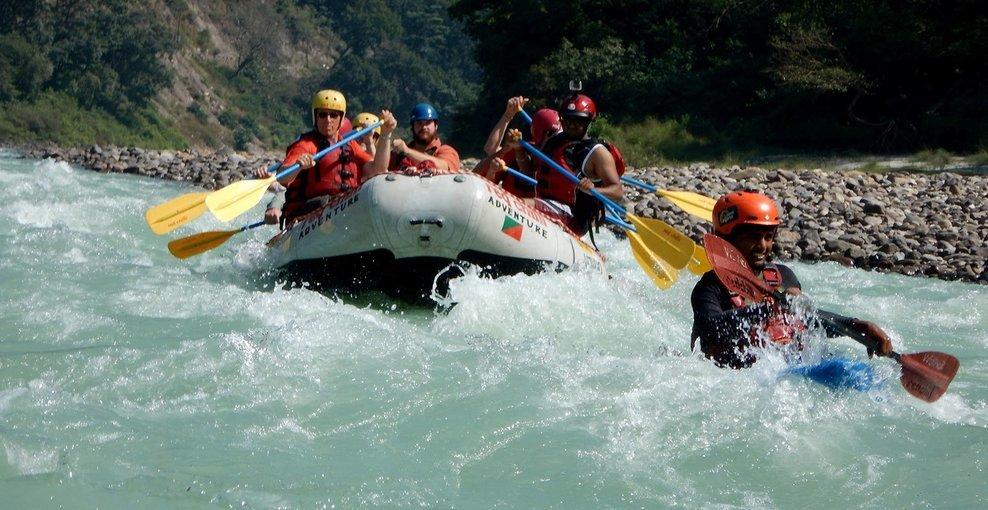 Ganga River Rafting from Kaudiyala - Tour