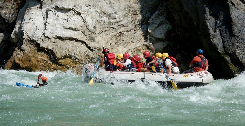 Ganga River Rafting from Marine Drive - Tour