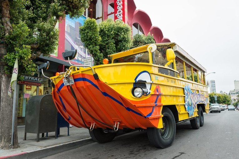 Duck Tour, Sightseeing in Singapore - Tour