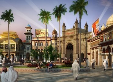 Dubai Park - Bollywood, Sightseeing in Dubai - Tour