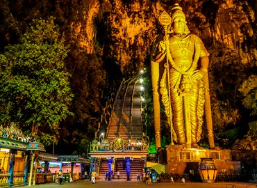 Batu Caves Hot Spring Temple's Park Tour, Sightseeing in Kuala Lumpur - Tour