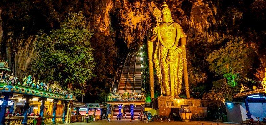 Batu Caves Hot Spring Temple's Park Tour, Sightseeing in Kuala Lumpur - Tour