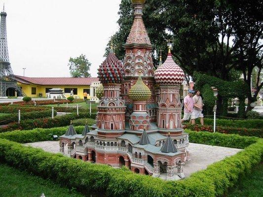 Mini Siam, Sightseeing in Pattaya - Tour