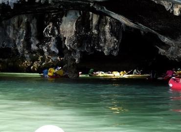 Sea Cave Canoe, Sightseeing in Phuket - Tour