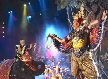 Phuket Fantasea Show, Sightseeing in Phuket - Tour