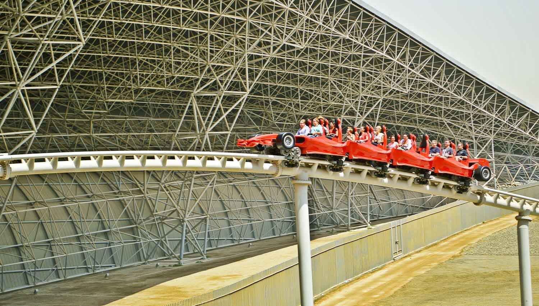 Abu Dhabi City Tour and Ferrari World Tickets