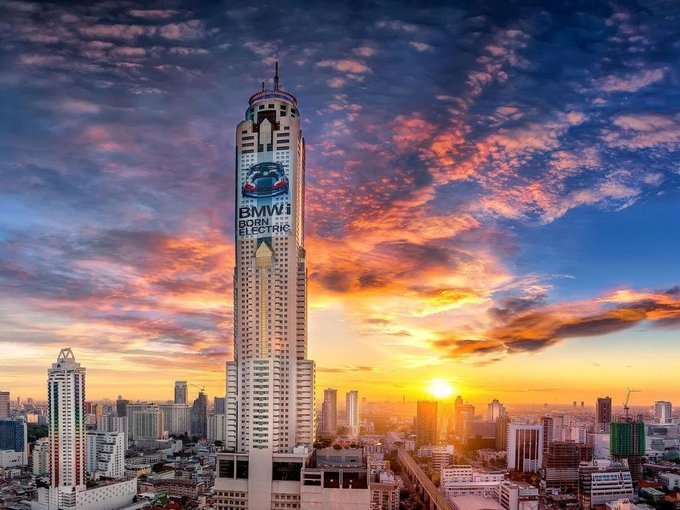 Buffet At Bangkok Sky Restaurant Tour (On 76th or 78th Floor), Meals in Bangkok - Tour