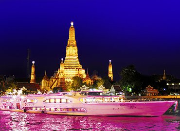 Dinner Cruise by Grand Pearl Tour, Sightseeing in Bangkok - Tour