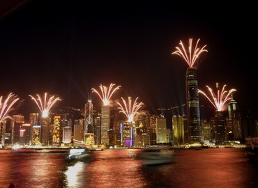 SKY 100 Tower By Night with Symphony of Light Show & Night Market, Sightseeing in Hong Kong - Tour