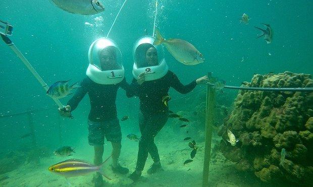 Sea Walking Adventure Tour, Sightseeing in Kota Kinabalu - Tour