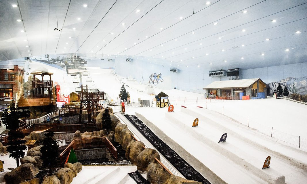 Snow Park Tour Dubai: Snow Park Ski Dubai Polar Pass and Transfers - Dubai - Tour