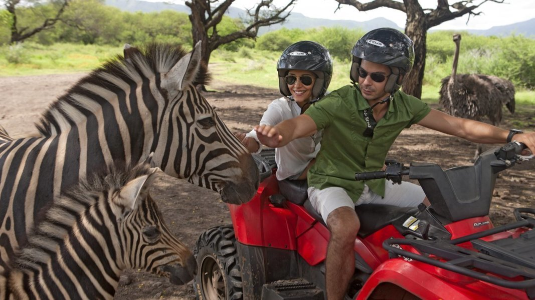 Casela World of Adventure Tour, Sightseeing in Mauritius - Tour