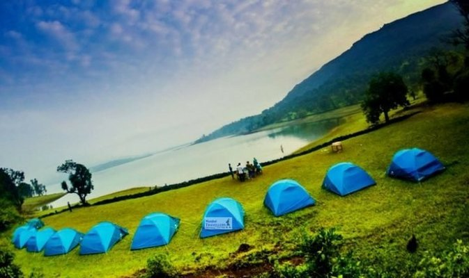 LAKESIDE CAMPING at BHANDARDARA - Tour