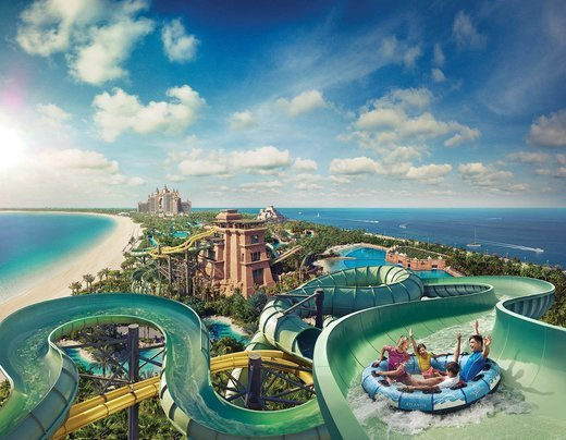 Aquaventure Water Park at Atlantis Tickets in Dubai - Tour